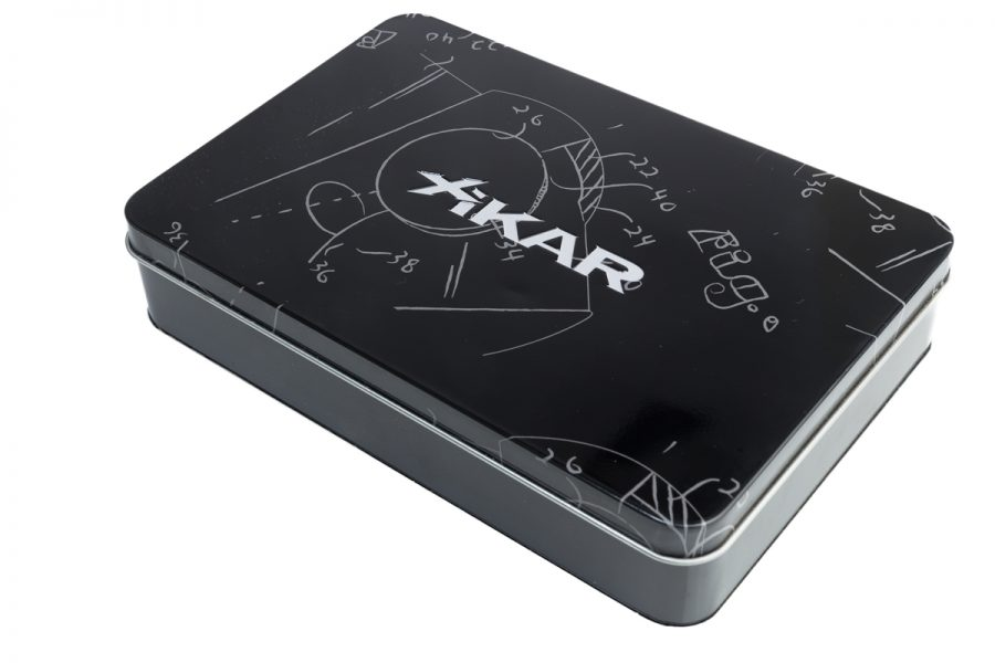 Xikar Magnetic Cutter and Lighter Gift Tin-0