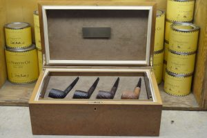 Collection of 8 Ashton XXX in Fitted Humidor - Extremely Rare-0
