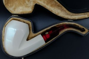 SMS Meerschaum Full Bent Panel Bulldog-0